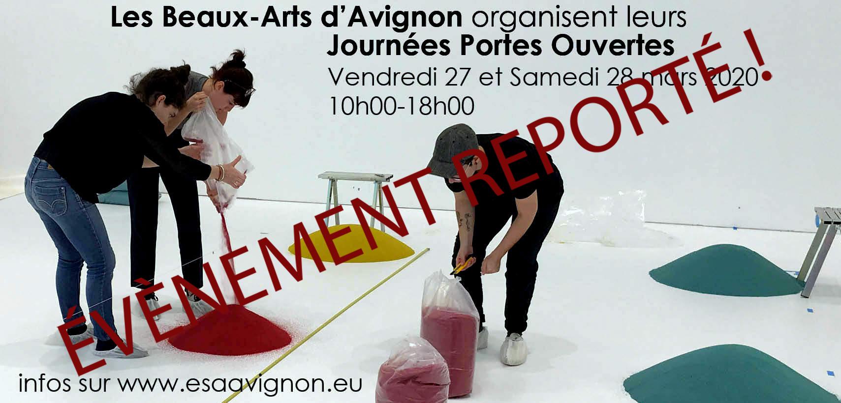 Les portes ouvertes de l'École supérieure d'art d'Avignon