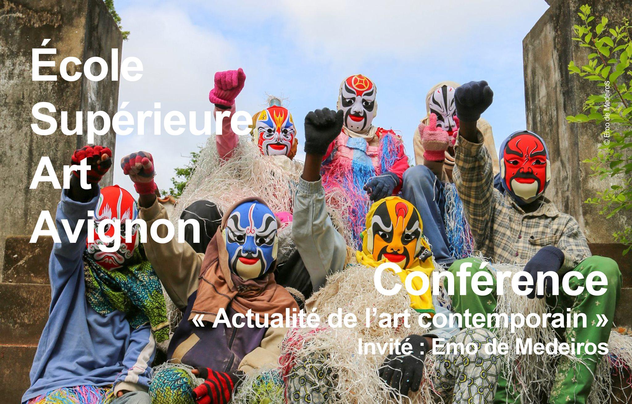 Conférence | Actualité de l'art contemporain | Emo de Medeiros